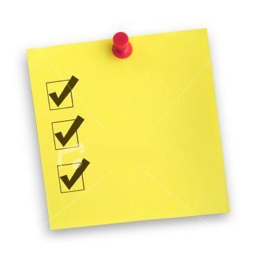 Check-list – үйлену тойына керек нәрсенің бәрі бір тізімде