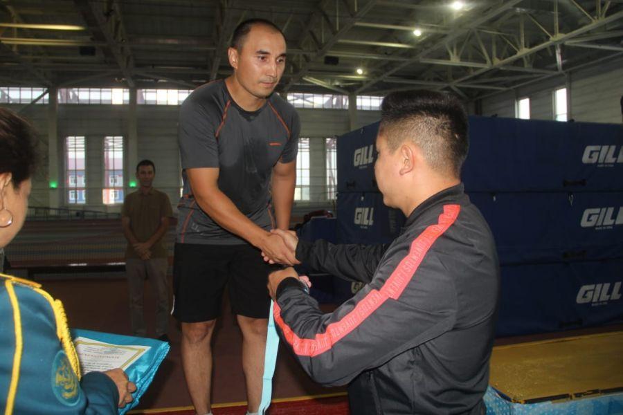 Ұлттық ұлан офицерлері спорттық әзірліктерін сынап көрді