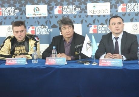 Astana Arlans пен Mexico Guerreros боксшылары өз салмақтарын анықтады
