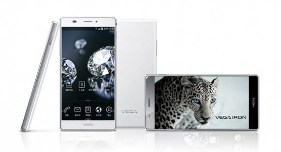 5-дюймды Pantech Vega Iron Android-смартфоны