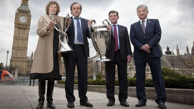 Чемпиондар Лигасының Кубогі Лондонға келді