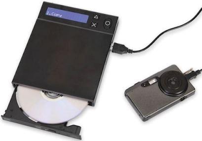 Memory Card to DVD Converter мәліметтерді карта жадынан DVD-ге жазады