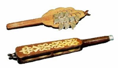 Асатаяқ - қазақ халқының көнеден келе жатқан музыкалық аспабы
