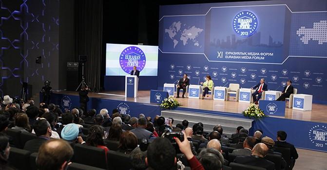 Астанада ХІ Еуразия медиа форумы өтті