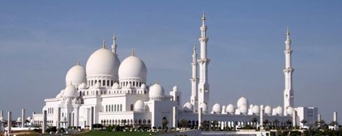 Абу-Даби қаласындағы алып мешіт