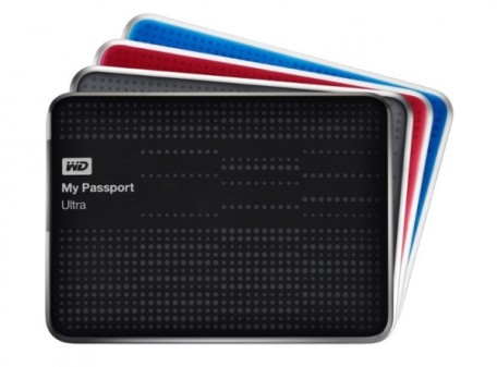 Ультрапортативті Western Digital қатқыл дисктері