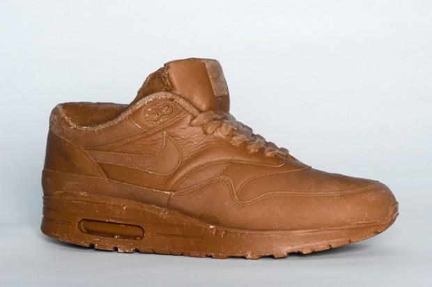 Шоколадтан жасалған Nike кроссовкалары