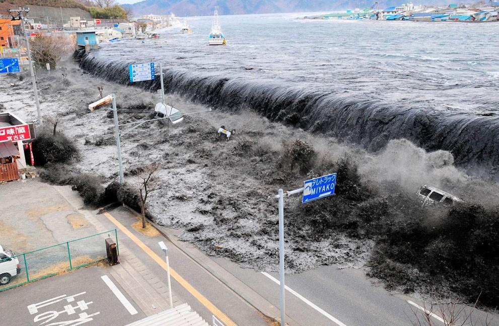 Жапондар цунамиге қарсы қорғаныс жүйесін ойлап тапты