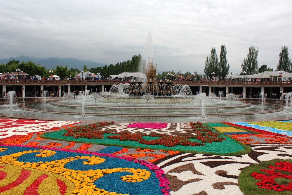 Алматы – гүл қала