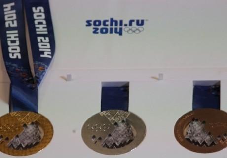 Сочи-2014 Олимпиадасының медальдары таныстырылды