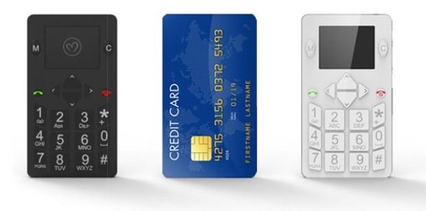 Micro-phone - көлемі кредит картасымен бірдей ұялы телефон