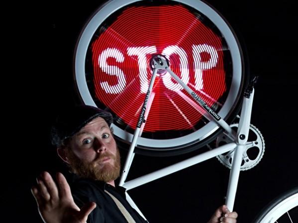 Велосипедке арналған сәнді дөңгелек