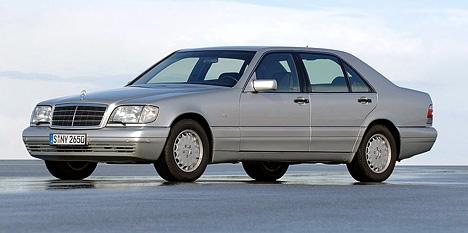 Mercedes w-140: