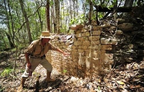 Археологтар орман арасынан жоғалған майя қаласын тапты
