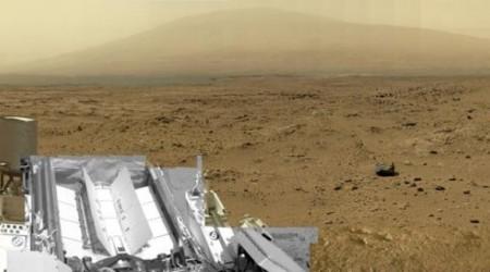 Curiosity Марстың алып көрінісін жасап шықты