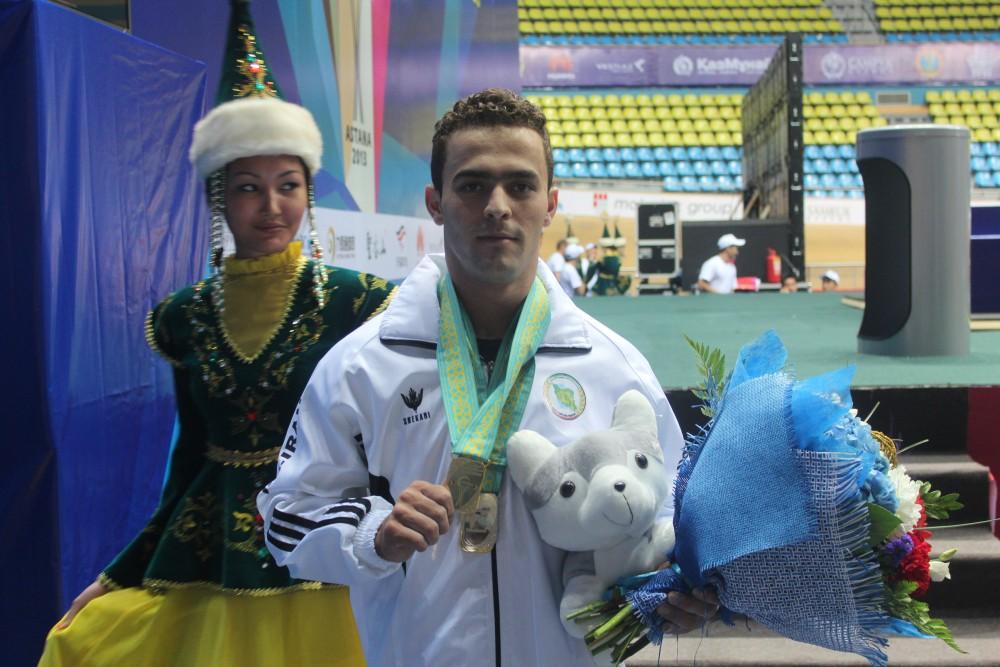 Иран құрамасы алғашқы алтынын алды