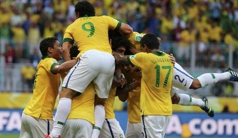 Бразилия - Италия 4:2 (Видео)