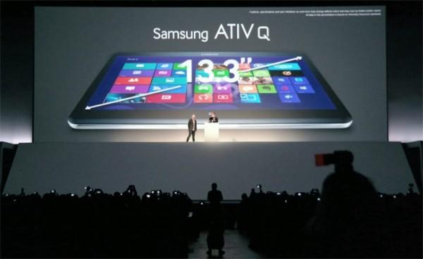 Samsung ATIV Q — Windows және Android ОЖ негізінде жасалған гибридті планшет
