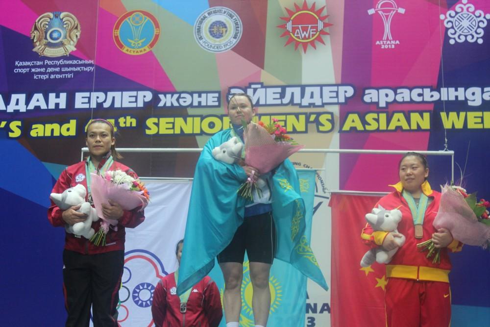 Анна Нұрмұхамбетова – Азия чемпионы!