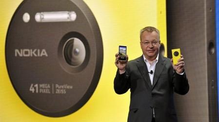 Nokia ұсынған 41 мегапиксельді камерасы бар Lumia 1020 смартфоны