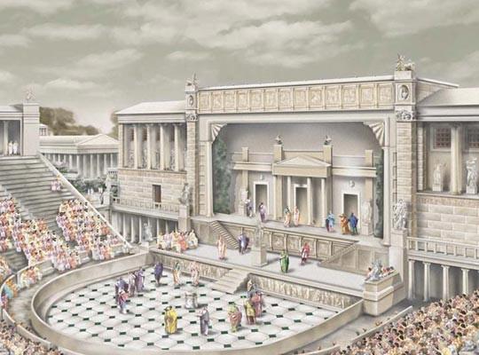 Ежелгі гректердің театры