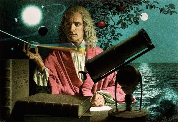 Исаак Ньютонның өмір жолы (Жалғасы)