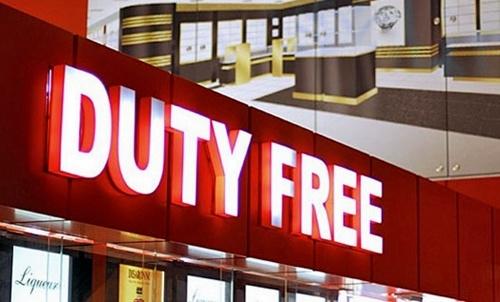 Duty-free дүкендері
