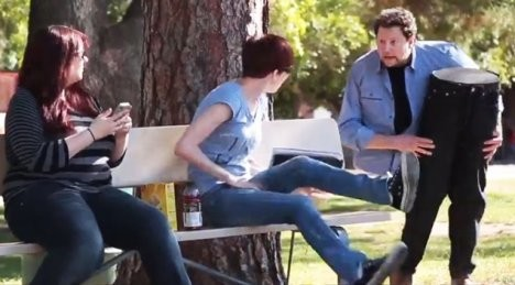 Көшедегі сиқыр (видео)