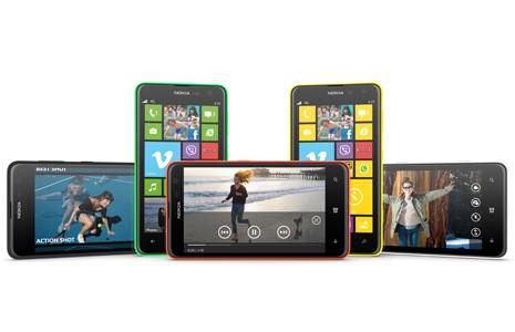 Nokia Lumia 625 смартфоны ресми таныстырылды