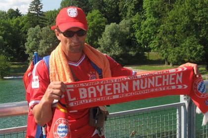 «Бавария» жанкүйері уәдесінде тұрды