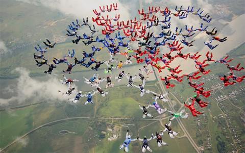 Алматыда парашют спортынан ел чемпионаты өтті