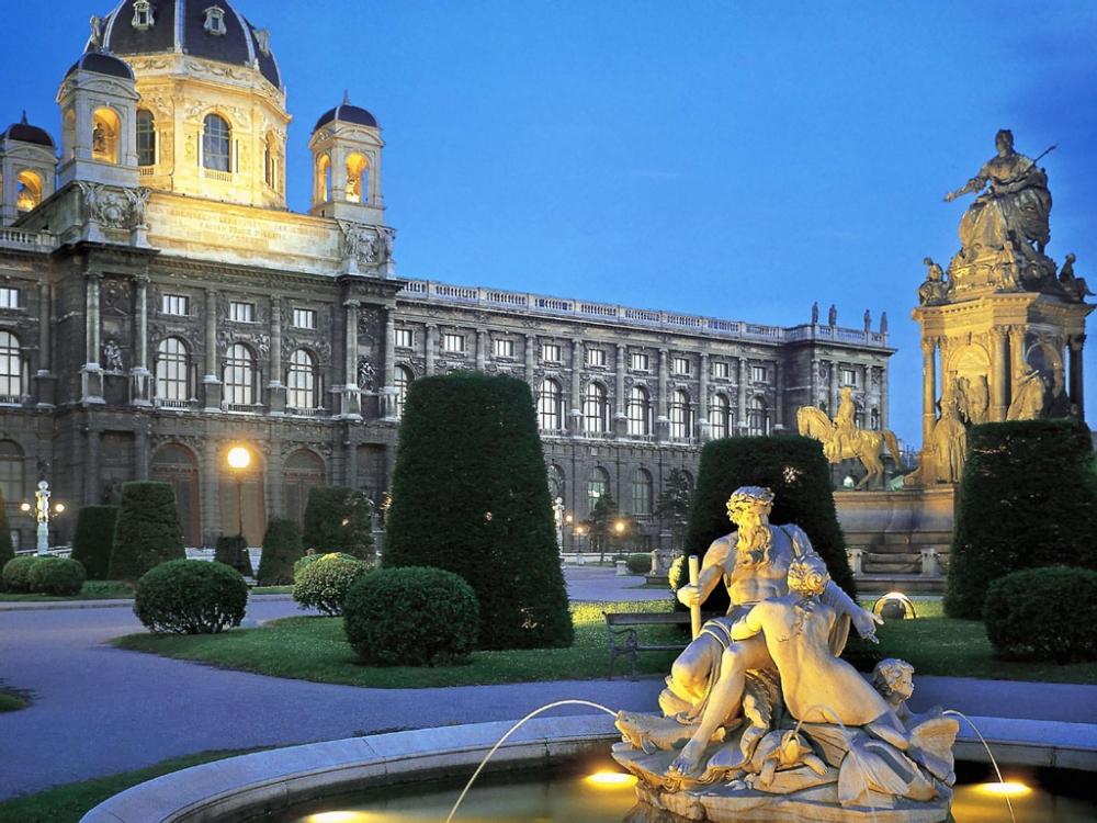 Вена - Австрия елінің астанасы