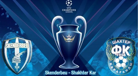 Чемпиондар лигасы. «Скендербеу» - «Шахтер»
