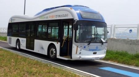 Алғашқы электромагнитті автобус жолға шықты