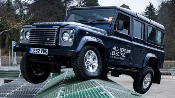 Land Rover Defender электрлік көлігі