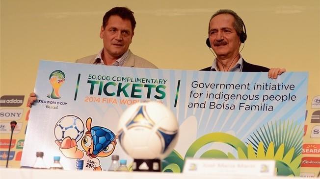 Бразилиядағы Әлем Чемпионатына билеттер сатыла бастады