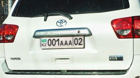 Қазақстандағы VIP-автонөмірлердің бағасы қанша?