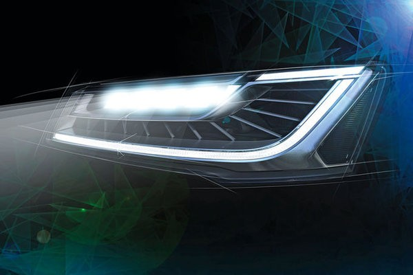 Audi A8 матрицалық фараларға ие болды