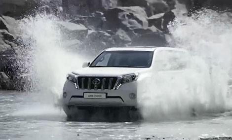 Желіде жаңа Toyota Land Cruiser Prado-ның құпиясы ашылды