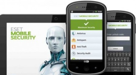 ESET NOD32 Mobile Security 2.0 антивирустық қосымшасы іске қосылды