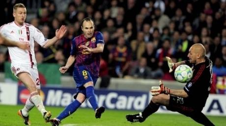 Барселона жартылай финалда