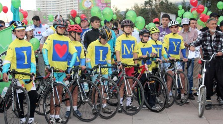 Алматы күні: Велошеруге 4000-нан астам қатысушы шықты