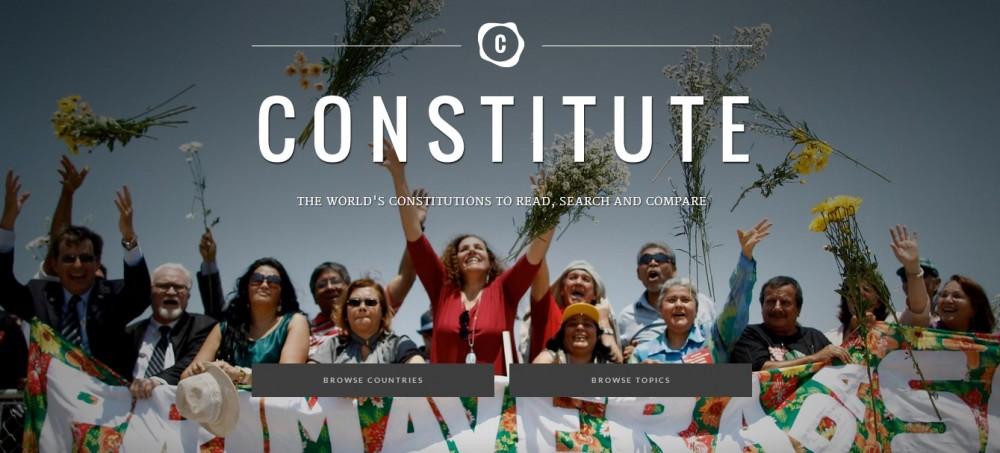 Google Constitute. Әлемнің 160 Конституциясы бір сайтта