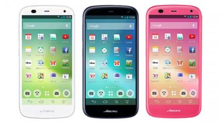 10 минутта толық қуаттанатын Fujitsu Arrows A смартфоны