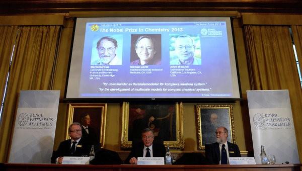 Химия саласы бойынша Нобель сыйлығының лауреаттары белгілі болды
