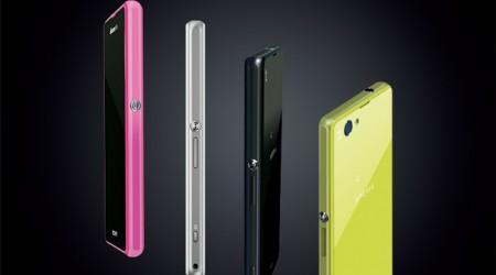 Sony Xperia Z1f — шағын экранды Android-смартфон