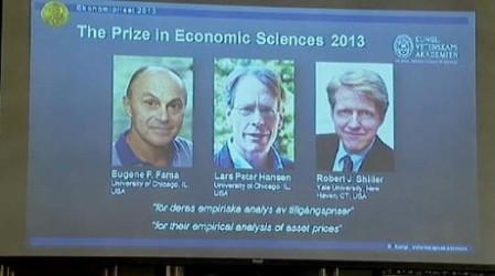 Экономика бойынша Нобель сыйлығы үшке бөлінді