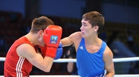 Ілияс Сүлейменов қырғыз боксшысын жеңді