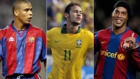 Футзалдың балалары: Роналдо, Неймар және Роналдиньо