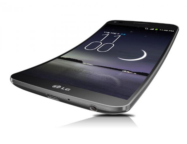 LG ұсынған иілгіш G Flex смартфоны
